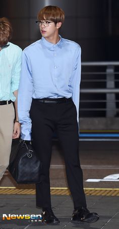 BTS at Incheon Airport Heading to Las Vegas for 2017 Billboard Music Awards [170519]