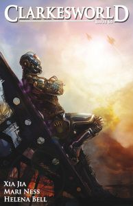 Clarkesworld Magazine.  This site is a must for any science fiction fan and it contains great fiction, in both written and audio podcast formats, great non-fiction articles and some stunning art work.