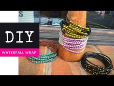 How To Make A Beaded Waterfall Wrap Bracelet with The Bead Place - YouTube
