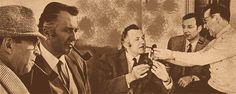 Jean Richard il primo Maigret televisivo francese, ha impersonato il commmissario dal 1967 al 1990. Oggi rievochiamo un episodio di Natale di 25 anni fa'.