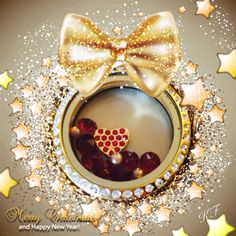 Love this gold locket! Click photo to order: large gold locket, gold heart charm, july birthstone crystals (red), 1 pack gold pearls (come 3 to a pack). South Hill Designs, Origami Owl Lockets, Gold Locket, July Birthstone, Click Photo, Heart Of Gold, Ornament Wreath, Heart Charm, Birthstones