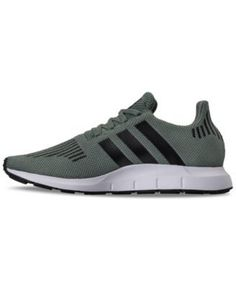 212b94f7219d adidas Men s Swift Run Casual Sneakers from Finish Line - Green 11.5 Casual  Sneakers