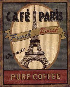 Coffee Blend Label II by Daphne Brissonnet art print