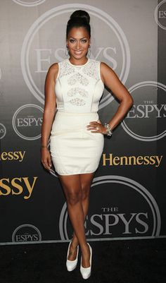Winter White on La La Anthony