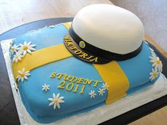 Liten Kaka Lycklig: Grattis Viktoria till Studenten! Kaka, Tartan, Sweets, Drink, Baking, Kitchens, Students, Beverage, Goodies