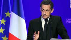 Nicolas Sarkozy presents his case to the French people at a campaign meeting in Paris this month