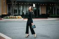 Style MBA wears Ann Taylor Tailored Pants and Top | @ Ann Taylor | @ Clay Terrace