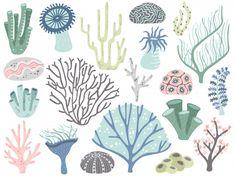 Aquarium corals and seaweed. marine ocean coral flora, decor underwater seaweeds and different water plants cartoon vector set Premium Vector Underwater Drawing, Underwater Plants, Underwater Photos, Underwater Photography, Film Photography, Street Photography, Ocean Illustration, Plant Cartoon, Inkscape Tutorials