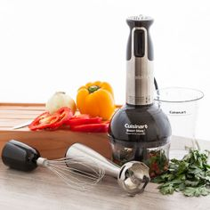 Cuisinart® - Smart Stick® Multi-Function Hand Blender via TasteCentral