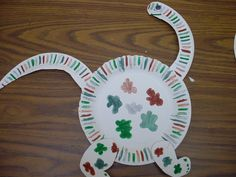 preschool paper crafts | ... paper plate dinosaur craft which in turn amazed me paper plate crafts