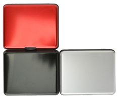 A200167 Aluminum Large Smooth Wallet