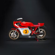 The legacy of MV Agusta engineer Arturo Magni lives on. This is the Filo Rosso, a tribute to the GP racers that powered Agostini to victory. And it's heading for production soon. Get more daily eye candy from the Bike EXIF Instagram account at http://instagram.com/bikeexif