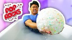 DIY GIANT POP ROCKS BATH BOMB! Diy Crafts To Do, Craft Projects For Kids, Diy For Kids, Fun Diy, Kids Crafts, Diy Projects, Lego Mosaic, Rainy Day Crafts, Perfect Gift For Mom