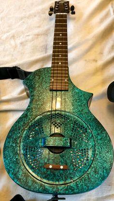 Beltona Songster resonator uke -- resin, glass fiber, carbon fiber construction Banjo, Ukulele, Resonator Guitar, Cigar Box Guitar, Custom Guitars, Pyrography, Carbon Fiber, Woodwork, Ears