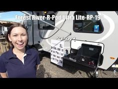 Forest River R-Pod travel trailer RP-190 highlights: Pass-Through Storage U-Shaped Dinette Kitchen Slide Front RV Queen Bed For the couple who is... #20424 Best Travel Trailers, Small Camper Trailers, Small Campers, Cargo Trailers, R Pod, Sturgeon Bay, Forest River Rv, Rv For Sale, Recreational Vehicles