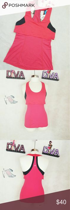 Lululemon tank top In good condition lululemon circle  mesh tank  top. Excellent for everyday workout. lululemon athletica Tops