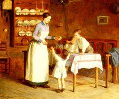 Victor Gabriel Gilbert - The Children's Taste
