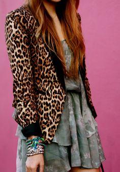 Leopard Blazer !!