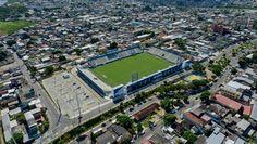 Estádio Ismael Benigno - Manaus (AM) - Capacidade: 10,4 mil - Clubes: São Raimundo, Rio Negro e Nacional