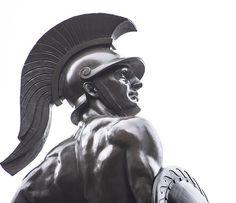 Greek Antiquity, Tattos, Soldiers, Sculpture Art, Mythology, Buddha, Statue, Antiques, Inspiration