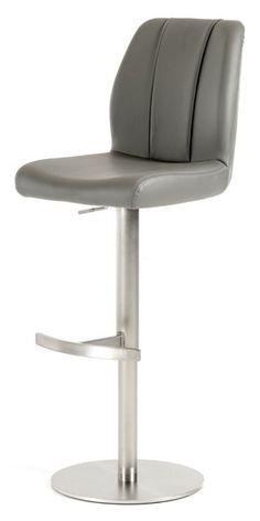 Fascinating Adjustable Height Bar Stool Design Idea With Perfect Arm And  Back Support In White And Brown Colors For Comfortableness | Furnitures |  Pinterest ...