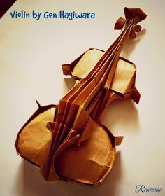 Life's Simple Pleasure: Origami Creations - Musical Tribute for my daughte...