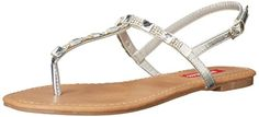 UNIONBAY Women's Peridot Dress Sandal, Silver, 7.5 M US * Find out more about the great product at the image link.