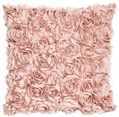 Chiffon Flower Cushion Cover Roses #pink #cushion #shopstyle #hm #homedecor #ad