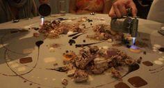 Servírovanie dezertu priamo na stôl. ~ iGURMAN.com