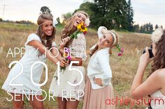 CLASS OF 2015> Join the team of Senior Reps: Spring • Mini Session with professional makeup application for just $45. ($140 value).  • $75 CASH for each friend you refer who books a session!  • Personalized Senior Rep cards with discounts to offer friends.  • Special press on Instagram, Twitter, Pinterest & Facebook.  • FREE Fashionista session with your 3rd referral! ($240 value).