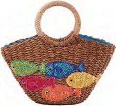 straw bag - Nada Sawya