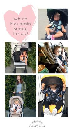 Buying a buggy can be bewildering, especially if you're new to the stroller scene. We gave one family six models from the Mountain Buggy range to test-drive in