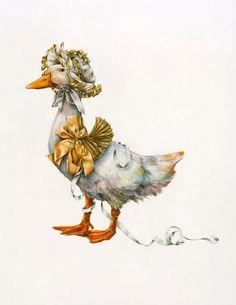 Mother Goose - the art of Lori Preusch <> (nursery rhymes, illustrations)