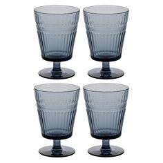Ideal for adding a little luxury into your everyday, the Soleil set of 4 blue textured wine glasses are perfect for soft drinks, pimms or long-drink cocktails. Buy now at Habitat UK. Clever Kitchen Storage, Kitchen Storage Solutions, Charlton House, Clear Glass, Wine Glass, Long Drink, Whiskey Glasses, Cocktail Drinks, Cocktails