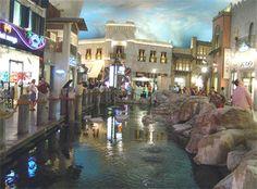 Rainstorm Show at Merchant's Mile Location: Miracle Mile Shops Address: 3663 S. Las Vegas Blvd. City: Las Vegas Area: Strip Price: Free Times: Mon-Thurs, 10 a.m.-11 p.m. every hour on the hour; Fri-Sun, 10 a.m.-11 p.m. every 30 mins. Phone: 877/333-9474