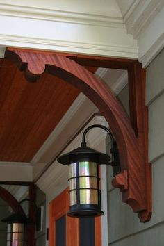 1000 images about craftsman exteriors on pinterest for Craftsman corbels exterior