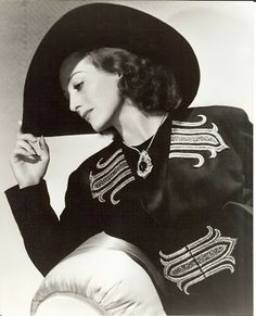 Joan Crawford in Adrian-designed fashion from Mannequin, released in 1938.