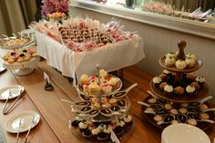 Dessert table at Eventi - a Kimpton Hotel during the Smart Event NYC on June 27, 2013.