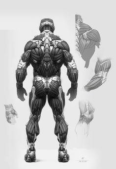 Nanosuit by Timur Mutsaev | 奈米衣 | Pinned Time: 20141107 19:00, Taipei Time. | #Imagery #意象