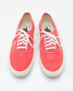 Vans - Authentic Slim Hot Coral