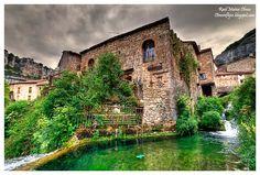 Pueblo de #Burgos en Orbaneja  del Castillo