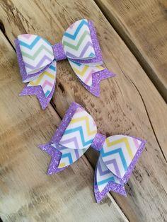 colorful bow clip. adorable bow Brush strokes bow bullet hairbow fabric bow kids hair bow headband