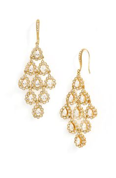 Nadri Tiered Chandelier Earrings | Nordstrom
