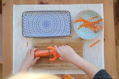 Messer, Schäler und Co. für Kinder - und wie wir diese von Anfang an benutzen
