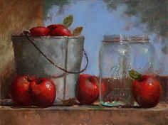 Almost Applesauce by Kathy Tate Oil ~ 12 x 16