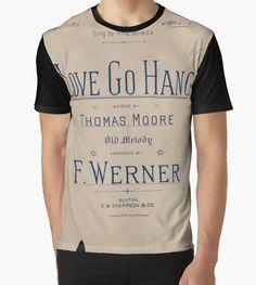 'Love Go Hang' Tri-blend T-Shirt by Ioan Rosca Nastasescu
