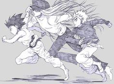 Gon, Killua, Kite, Hunter x Hunter