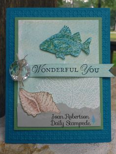Artisan Entry By the Tide card by junior tx - Cards and Paper Crafts at Splitcoaststampers