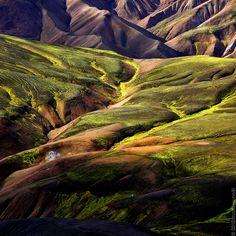 Iceland - Landmannalaugar by Mathieu Noel, via Flickr