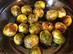 Gluten Free A-Z Blog: Honey Glazed Brussels Sprouts- a perfect side dish for Passover